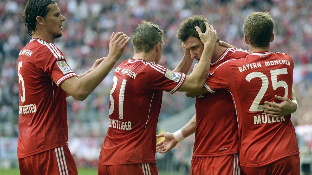 Mario Mandzukic - Bayern Munich