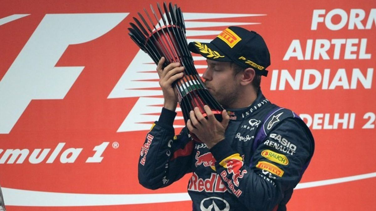 Sebastian Vettel Indian Grand Prix