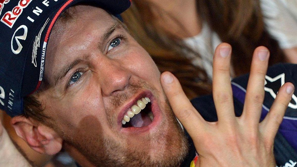 3000 Vettel-Fans feiern Weltmeister in Heppenheim
