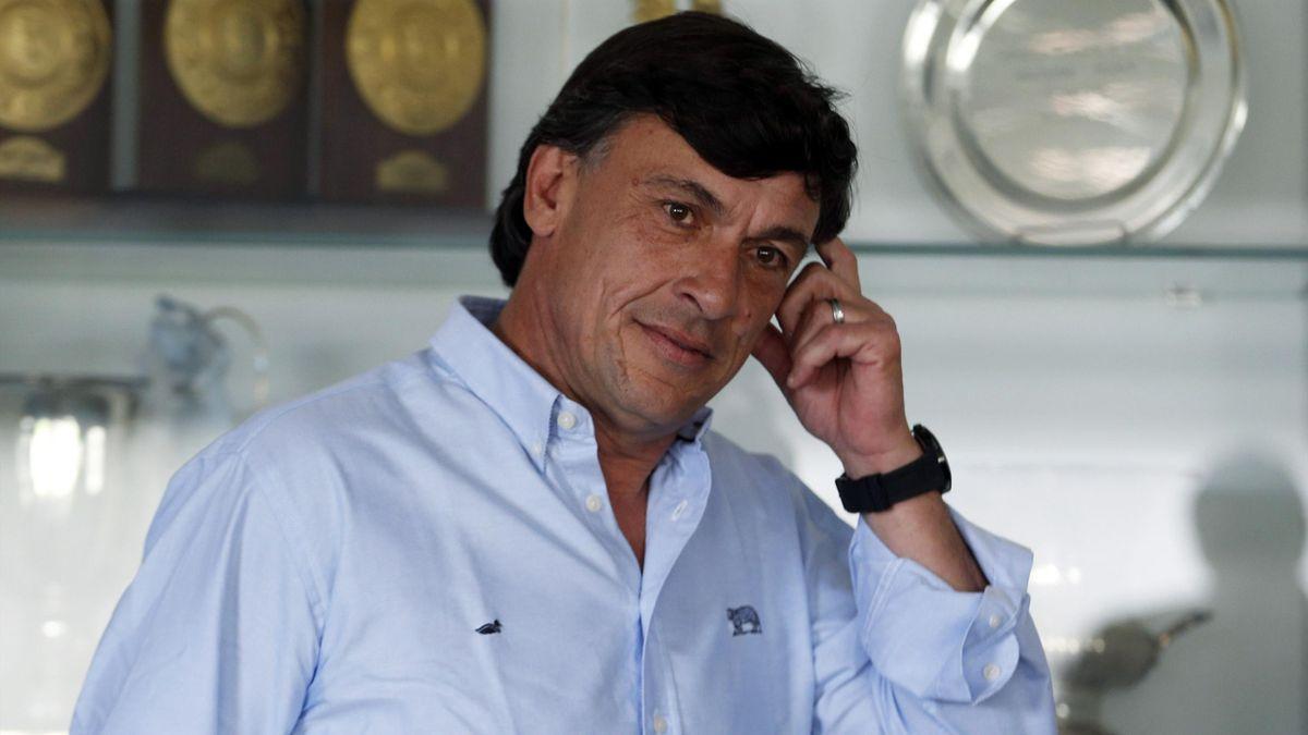 Argentina rugby coach Daniel Hourcade. (Reuters)