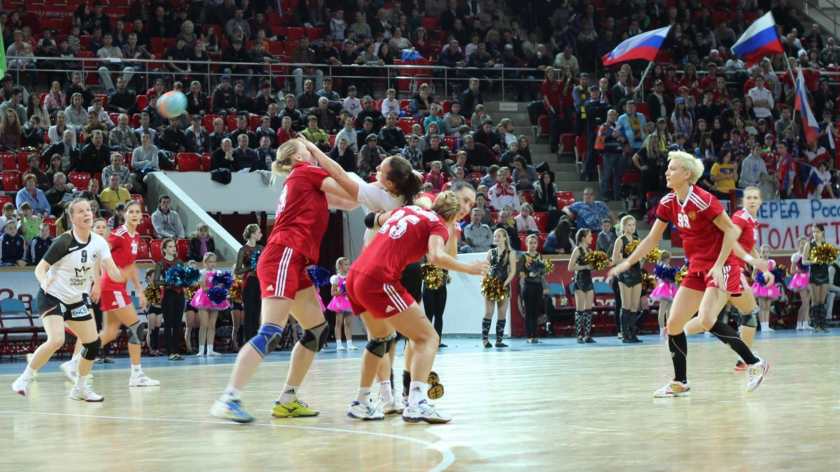 Russia Germany handball