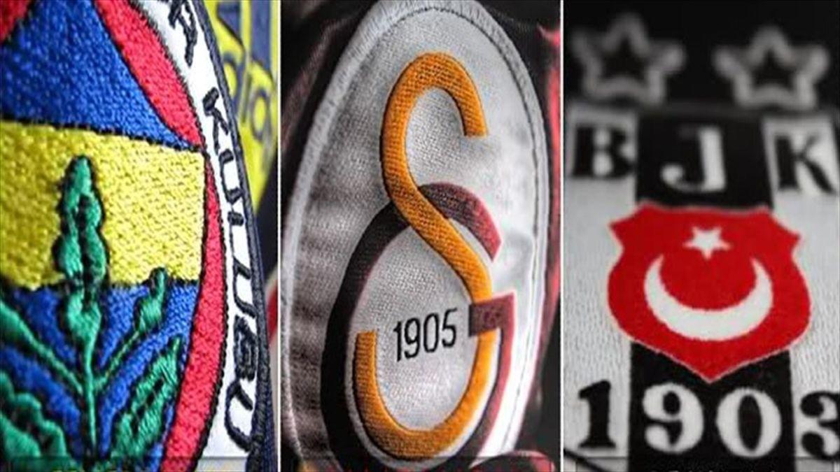 Üç büyükler Beşiktaş Fenerbahçe Galatasaray jenerik