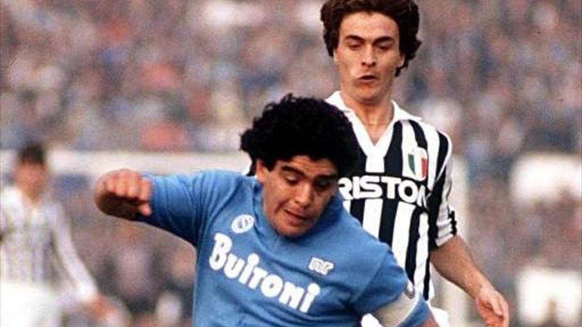 Juventus Napoli 1986 Maradona
