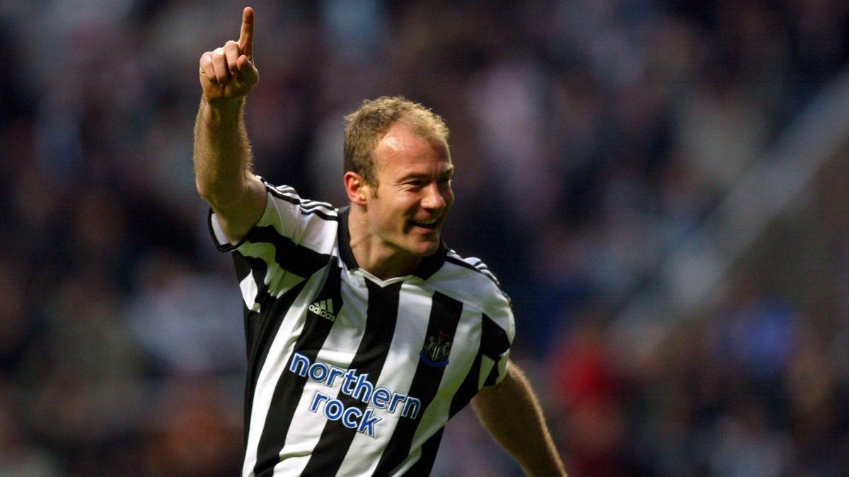 Alan Shearer sous le maillot de Newcastle