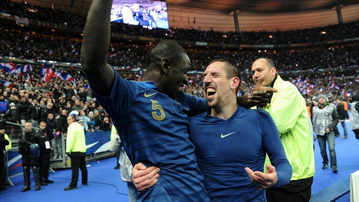 FOOTBALL France 2013 Ribery Sakho version Obama