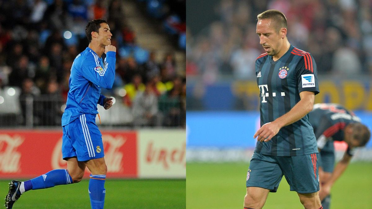 FOOTBALL - 2013 - Ballon d'Or - Cristiano Ronaldo - Ribéry - Montage
