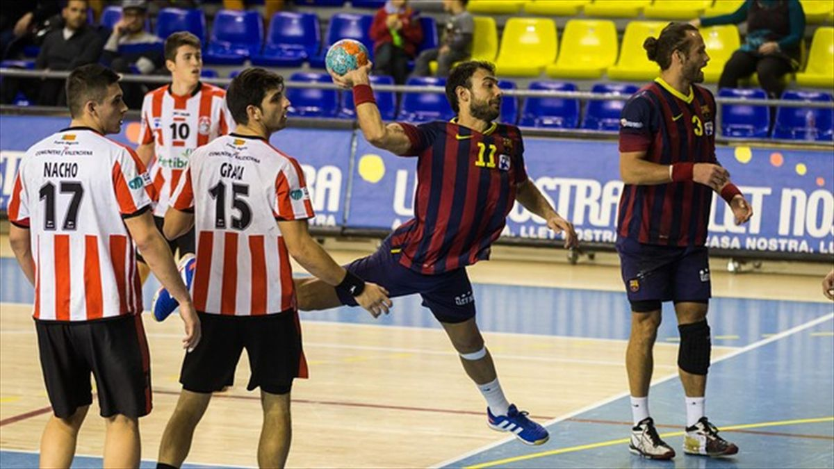 Barcelona - Puerto Sagunto de la Liga ASOBAL (www.fcbarcelona.es)