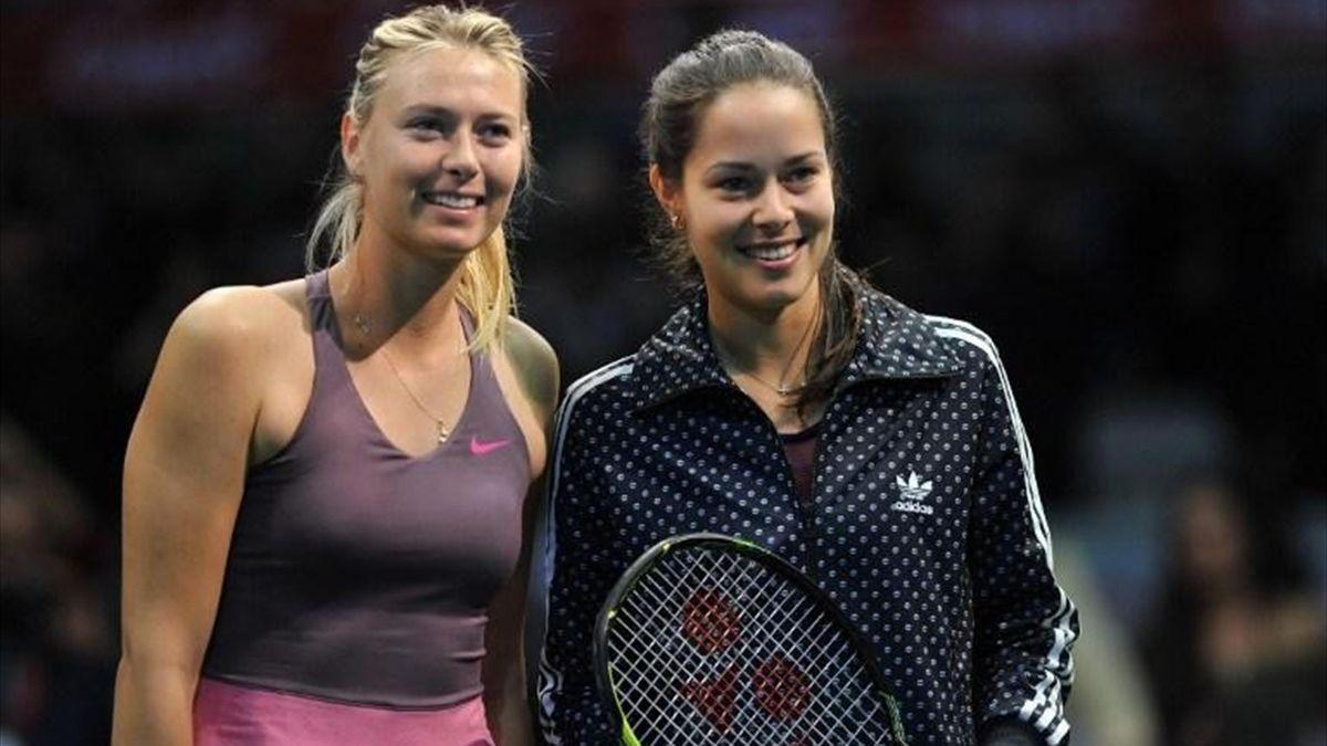 Ana Ivanovic și Maria Sharapova s-au întâlnit în finala de la Australian Open din 2008