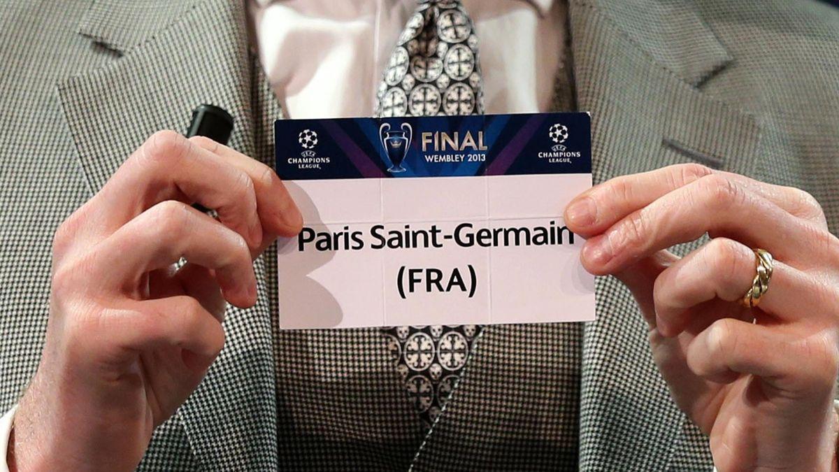 FOOTBALL 2013 Tirage au sort, Draw - PSG