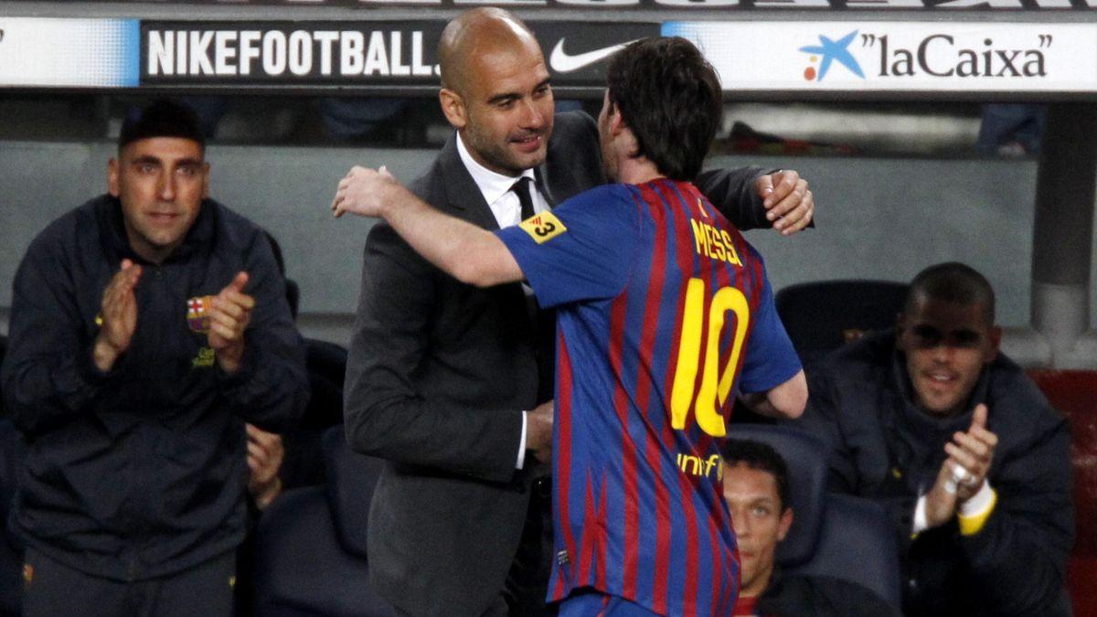 Pep Guardiola - Lionel Messi