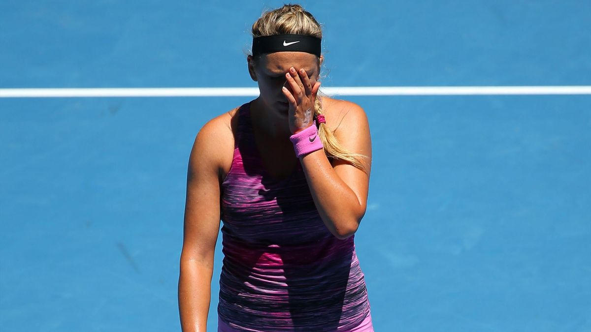 Endstation Viertelfinale: Titelverteidigerin Azarenka
