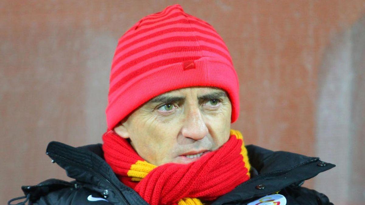 Galatasaray Teknik Direktörü Roberto Mancini