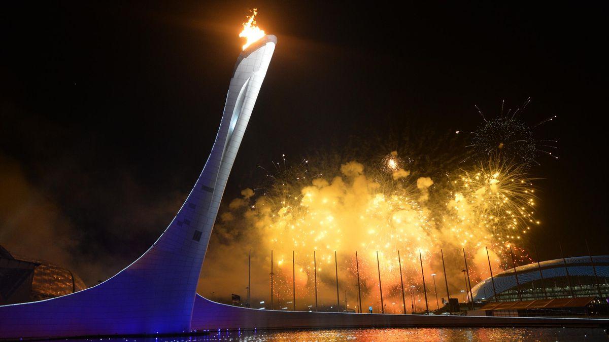 олимпийский огонь olympic flame