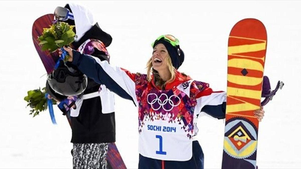 Jenny Jones took bronze in the women's snowboarding slopestyle in Sochi