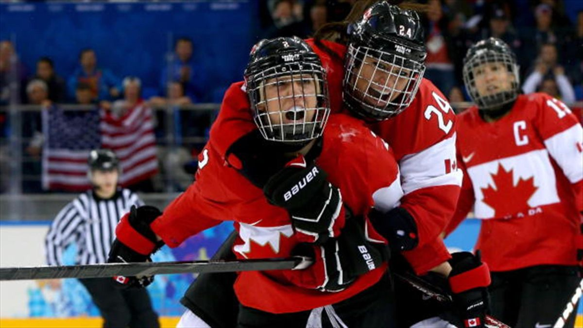 New coach Kevin Dineen is leading Canada's women's ice hockey team to the verge of a fourth-successive Olympic gold.