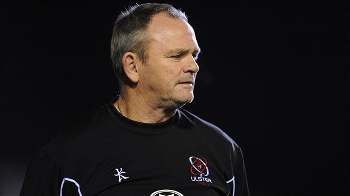 Head coach Mark Anscombe, pictured, has convinced Ruaidhri Murphy to join Ulster