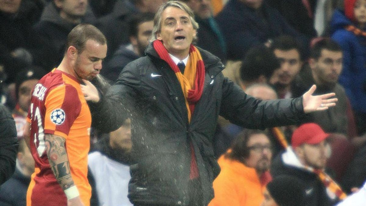 Wesley Sneijder - Roberto Mancini