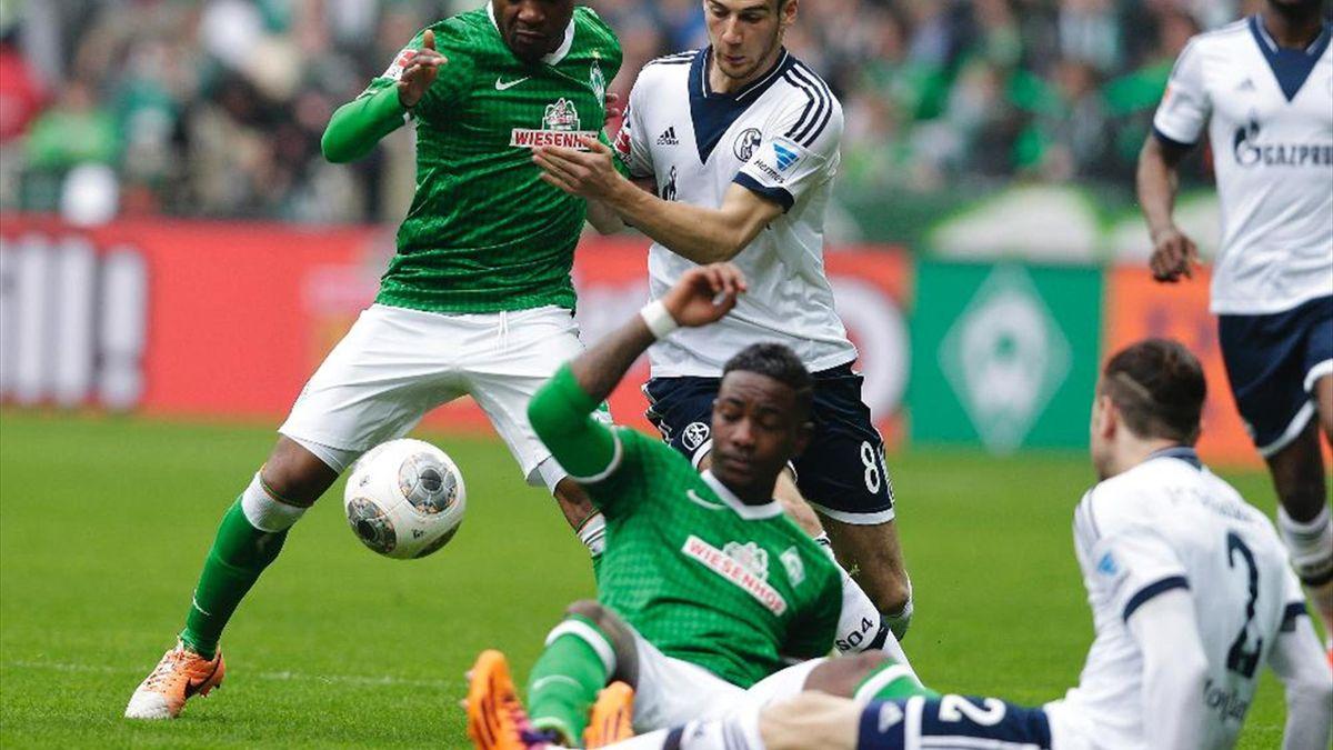 Punkteteilung zwischen Werder Bremen und Schalke 04