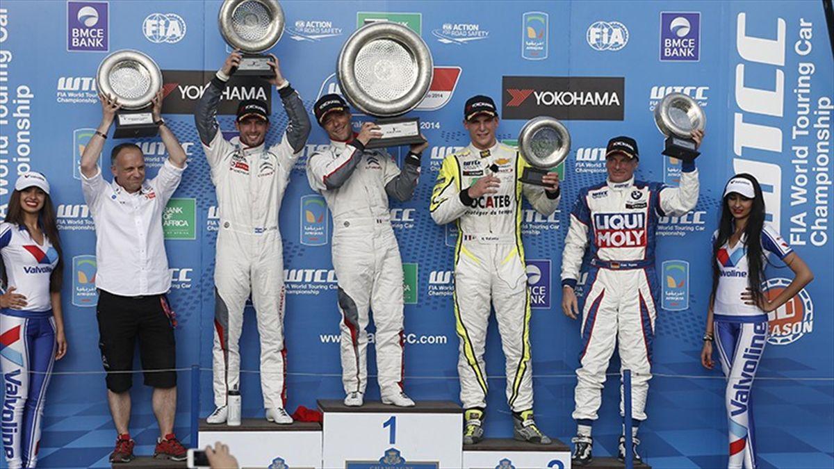 Los ganadores en Marraketch en la WTCC