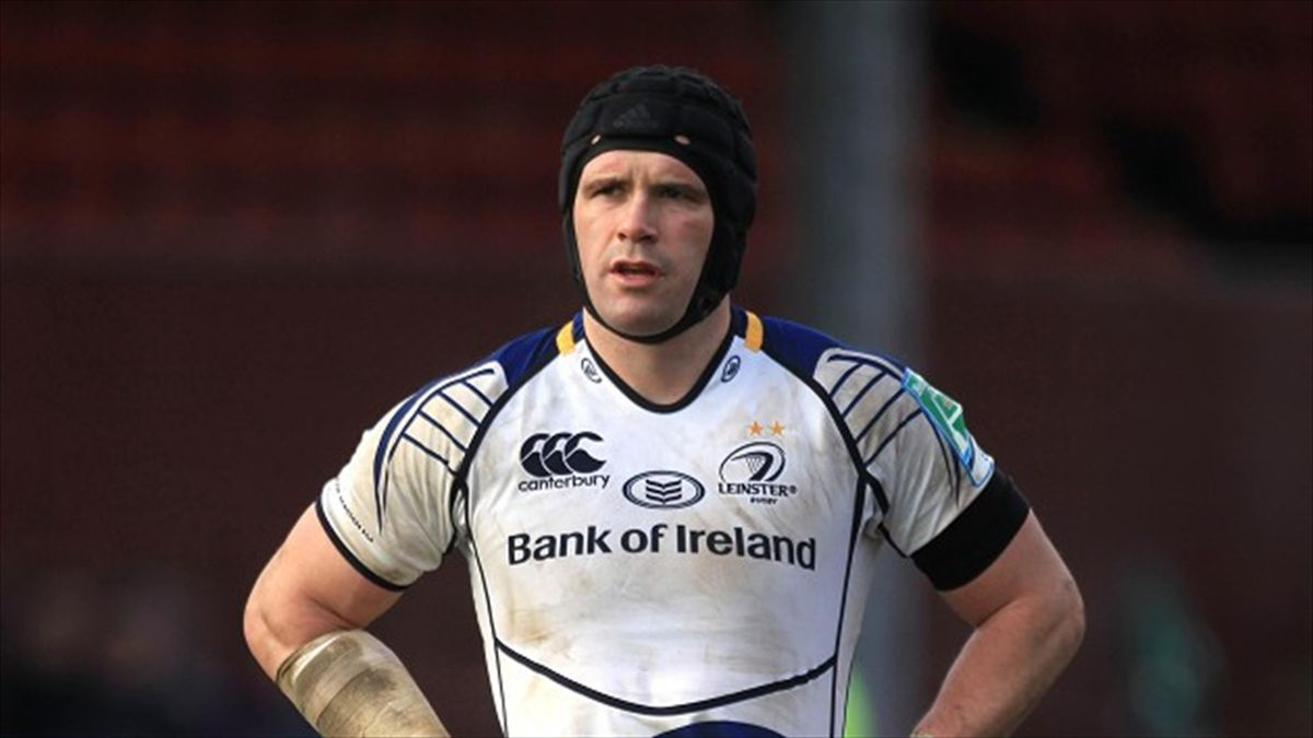 Shane Jennings, pictured, scored Leinster's only try as they defeated Ulster on Friday night