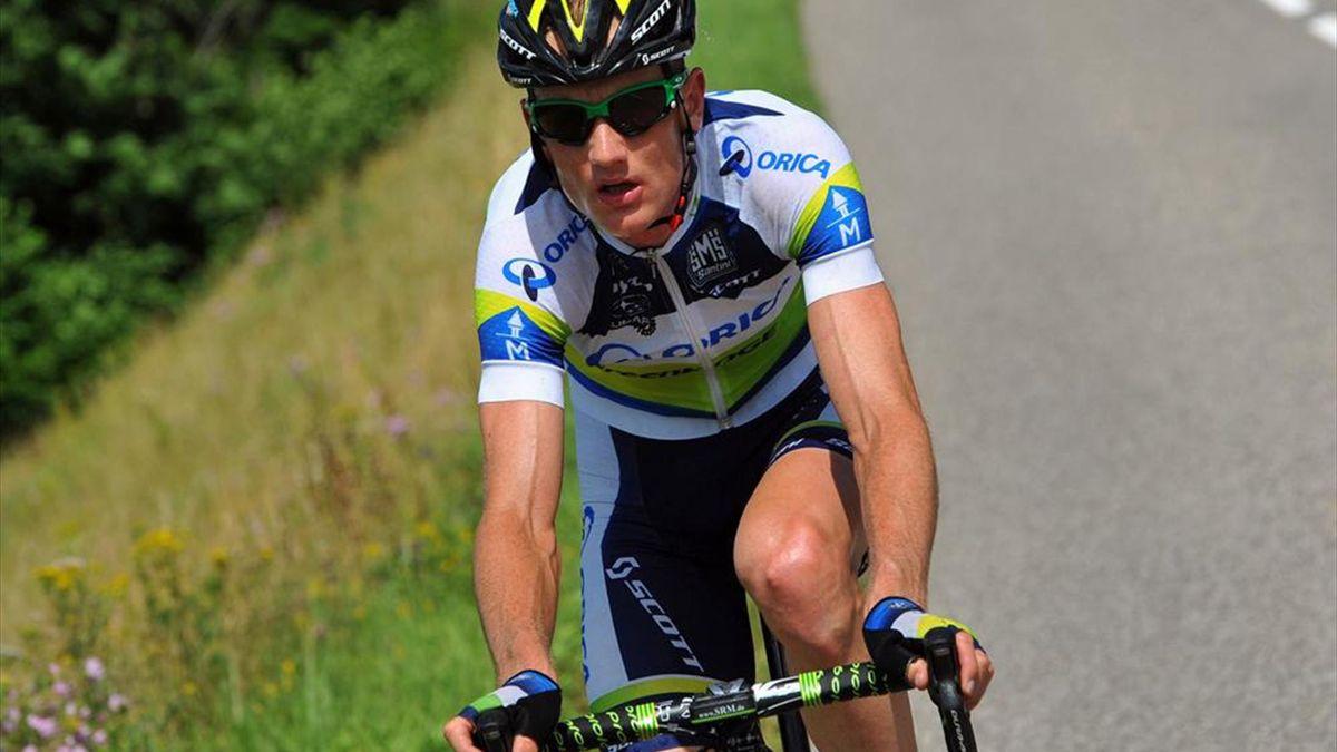 Pieter Weening holt Oricas dritten Giro-Tagessieg