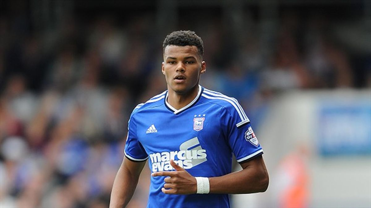 Tyrone Mings at Ipswich