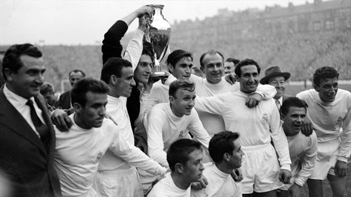 Real Madrid claimed a famous 1960 European Cup final win at Hampden Park