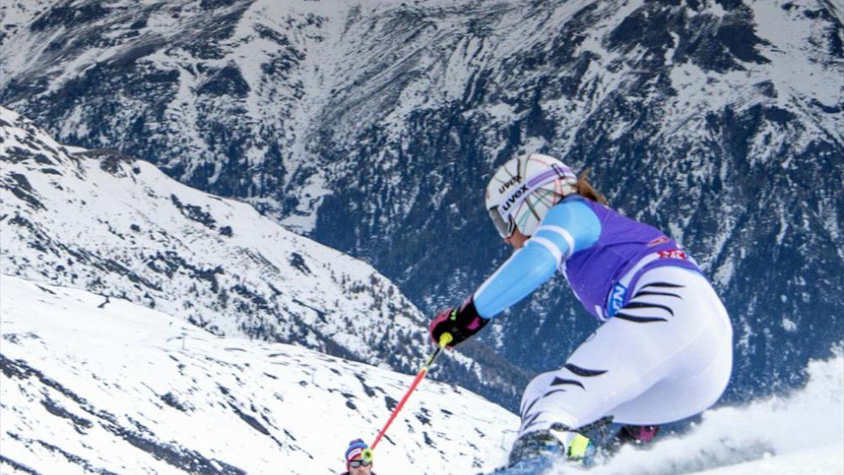 Rebensburg verpasst Podestplatzierung in Aspen