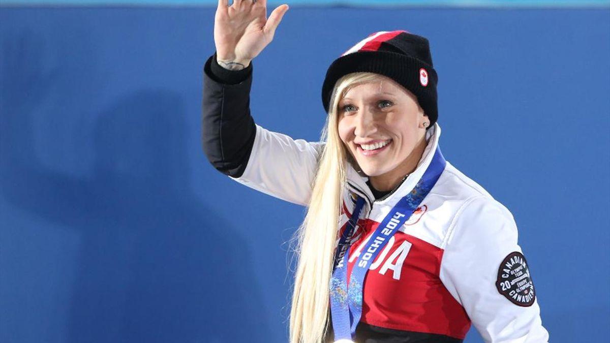 Kaillie Humphries ist Kanadas Sportlerin des Jahres