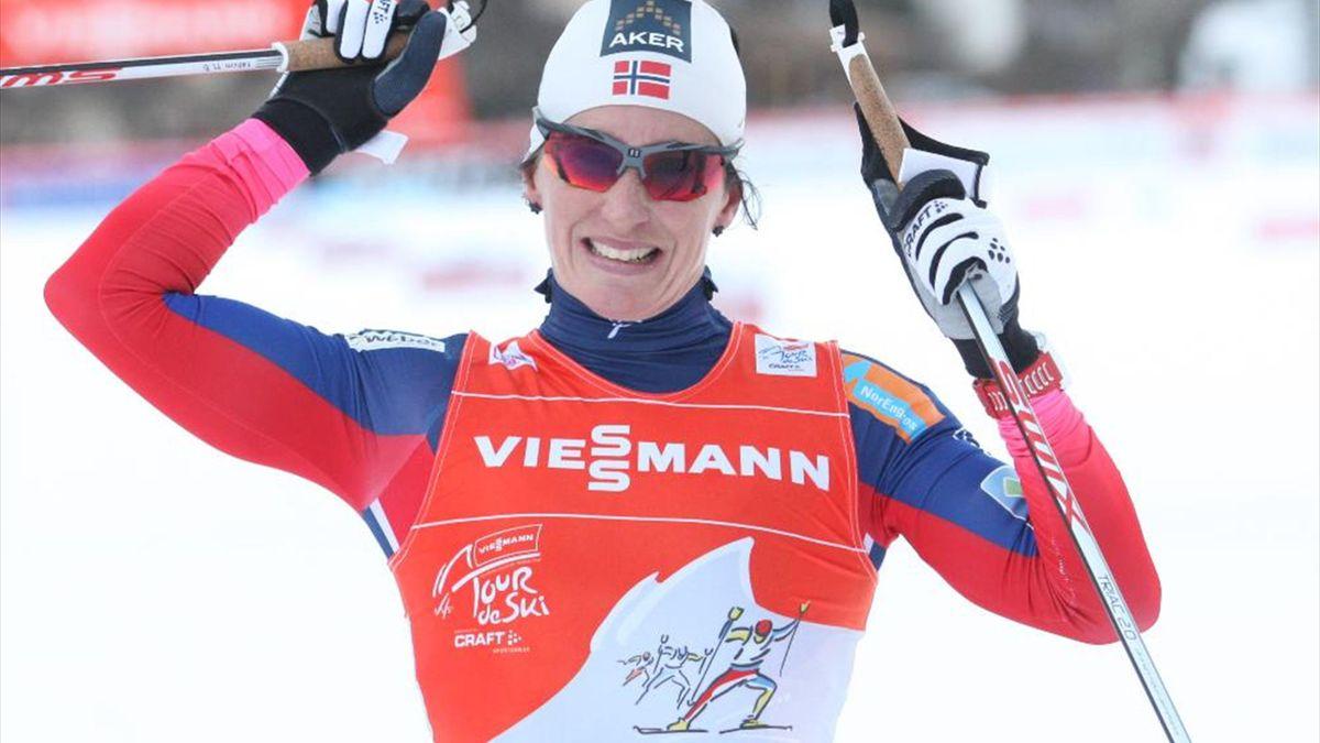 Марит Бьорген выиграла «Тур де Ски»