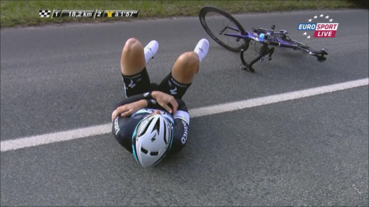 Paris-Nice : Boonen falls