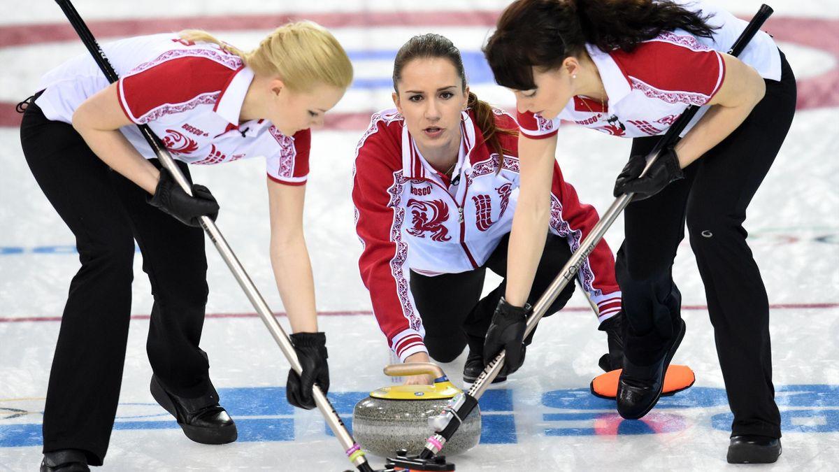 Curling Women Team Russia