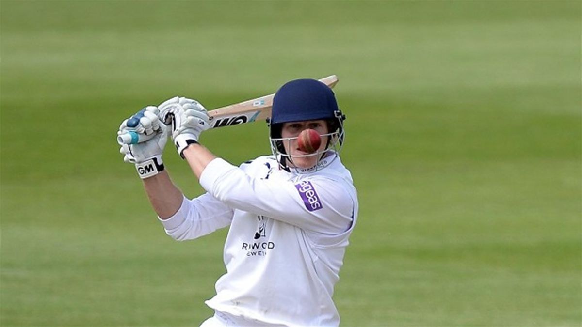 Hampshire's Jimmy Adams will be the first to wear a Masuri StemGuard in England