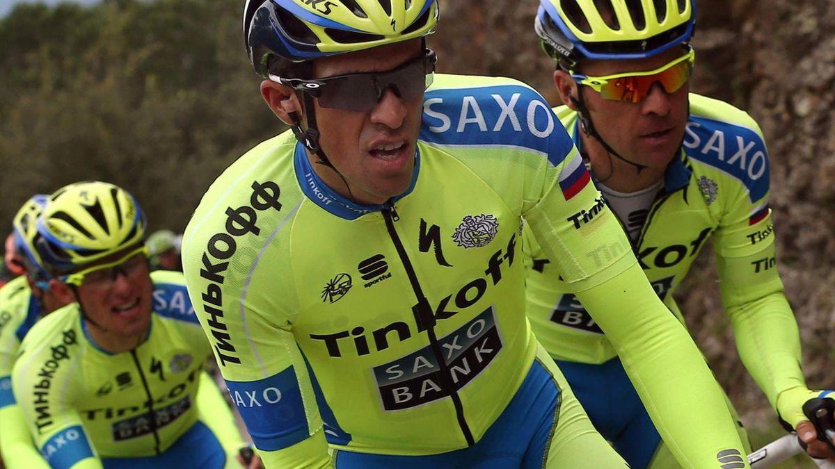 Alberto Contador en la Volta a Catalunya