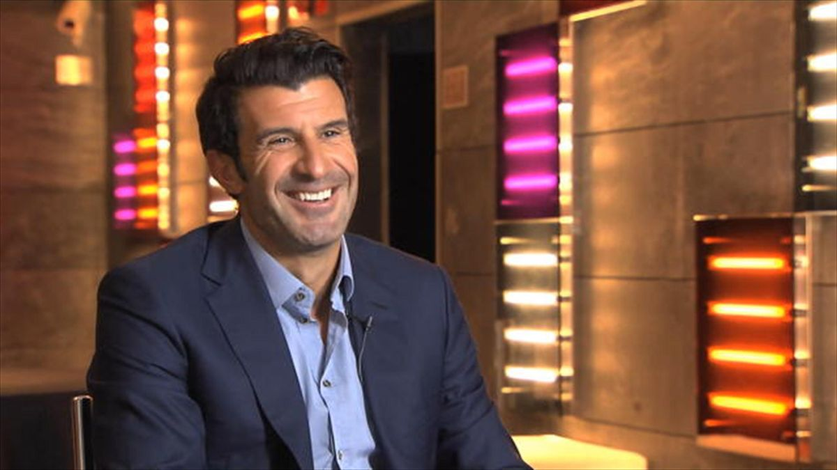 FIFA Presidential candidate Luis Figo has denied meeting with the other hopefuls and discussing pulling out of the race