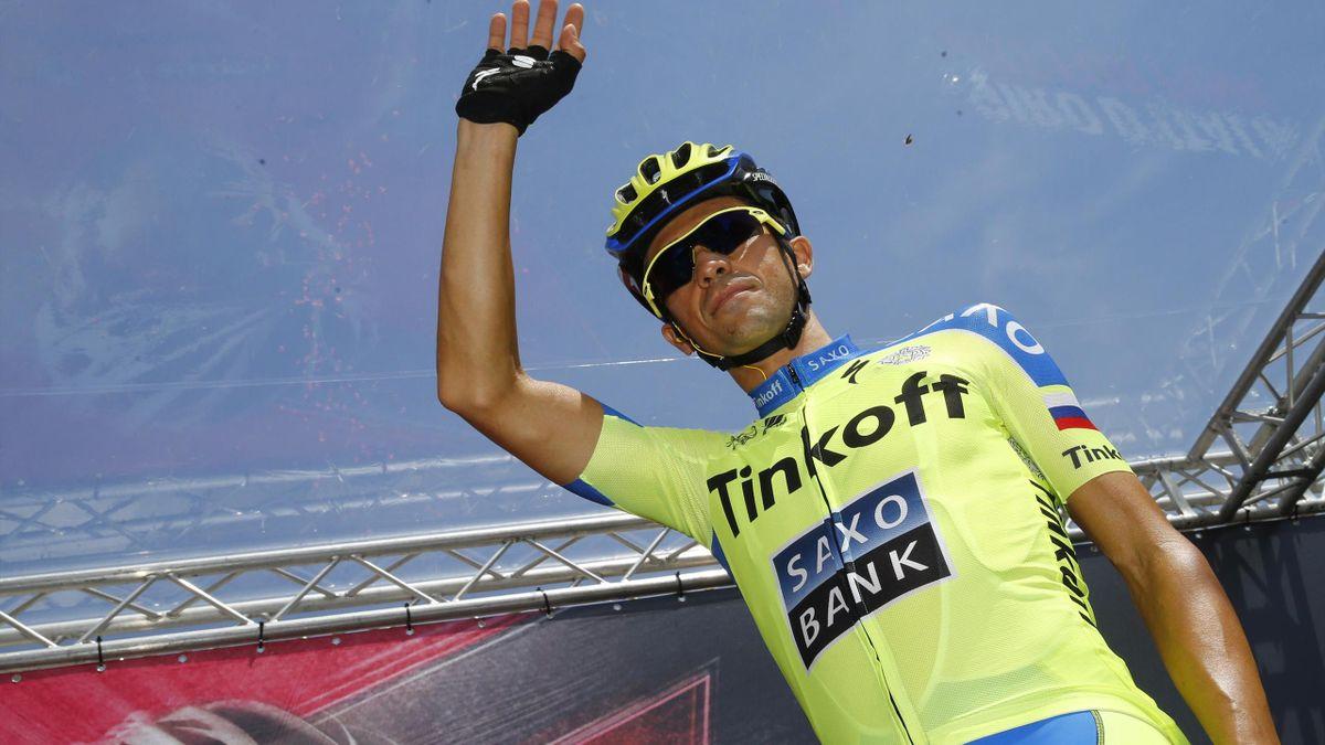 Alberto Contador sur le Giro