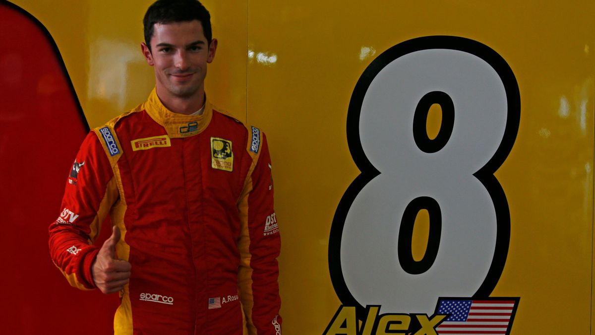 Alexander Rossi (Racing Engineering) pole sitter in Monaco 2015