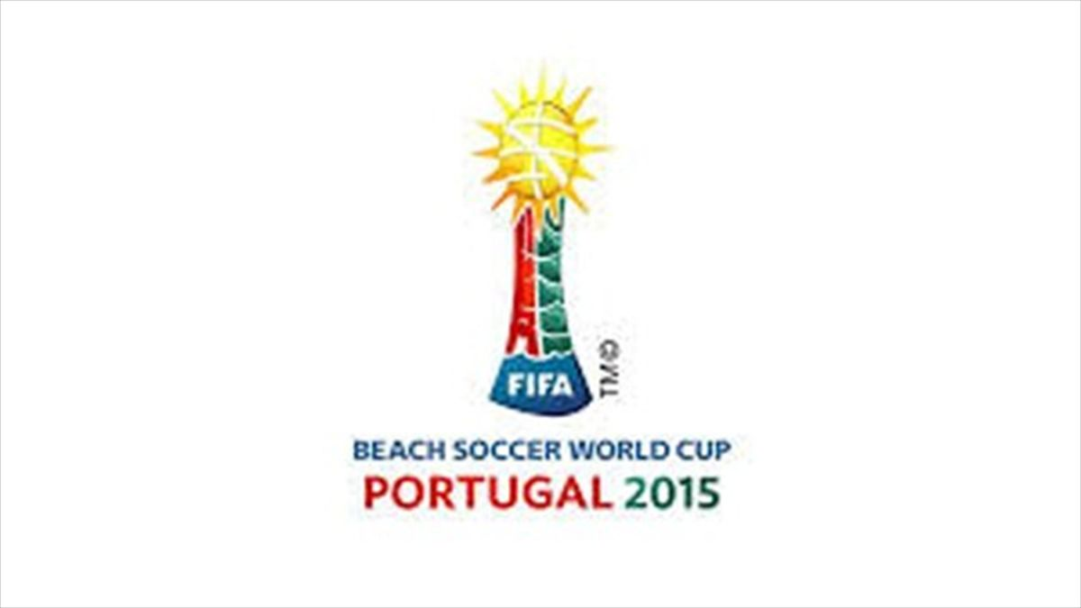 logo player beach soccer wcup portugal