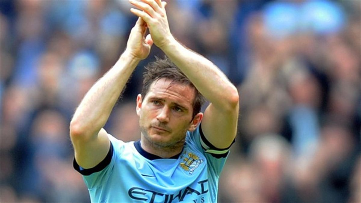 Frank Lampard is yet to play in Major League Soccer due to a calf injury