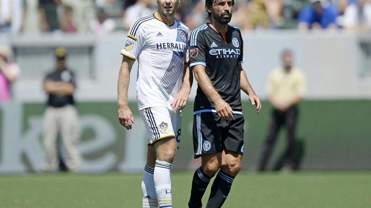 Gegner in der MLS: Steven Gerrard und Andrea Pirlo