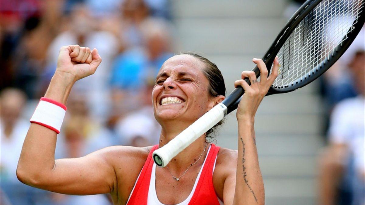 Roberta Vinci zieht in New York ins Halbfinale ein