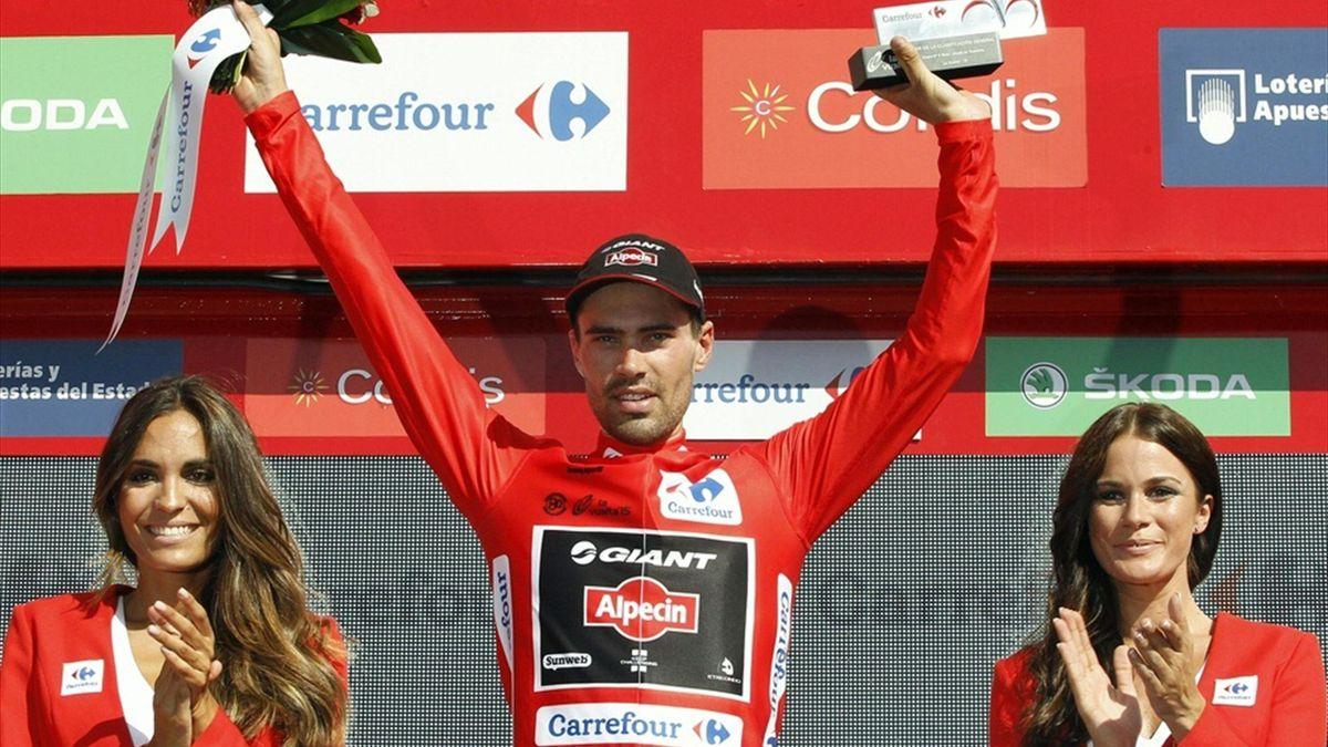 Tom Dumoulin übernimmt bei der Vuelta das Rote Trikot