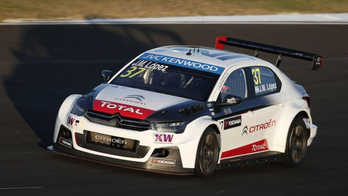 37 LOPEZ Jose Maria (arg) Citroen C Elysee  team Citroen racing action during the 2015 FIA WTCC World Touring Car Championship race at Buriram from October  31h to November 1st  2015, Thailand. Photo Jean Michel Le Meur / DPPI