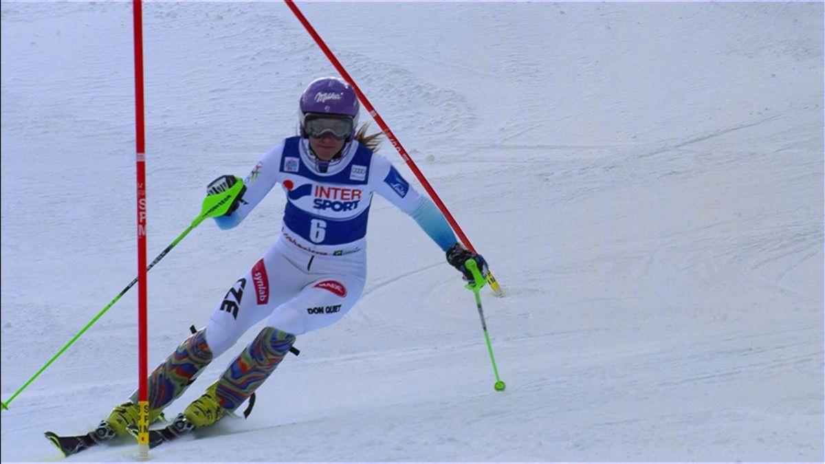 Strachova's 2nd run (2nd position)