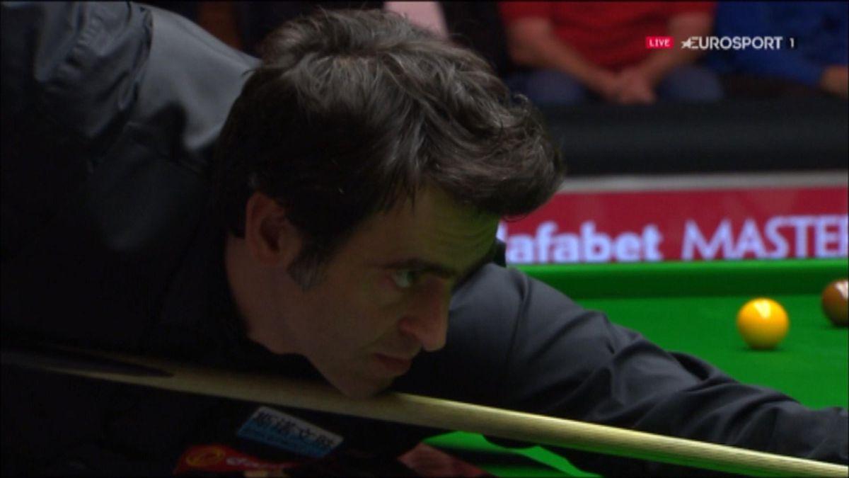 Snooker - O'Sullivan's break against Shelby