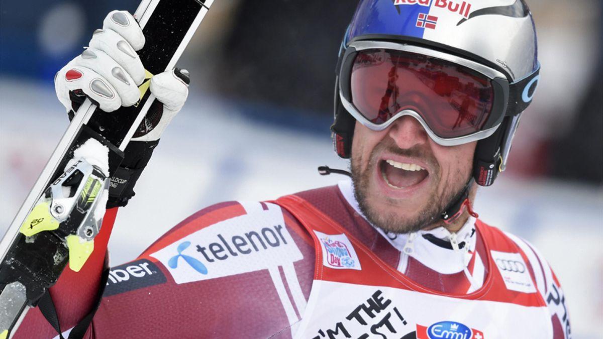 Aksel Lund Svindal gewinnt in Wengen