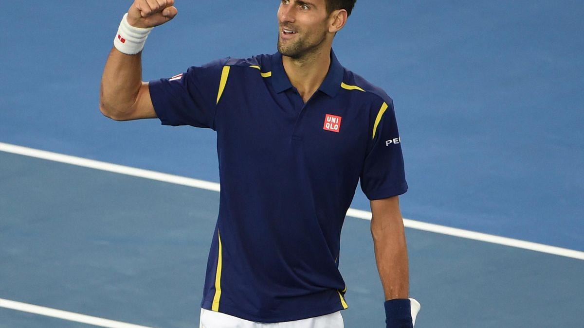 Novak Djokovic steht im Achtelfinale der Australian Open