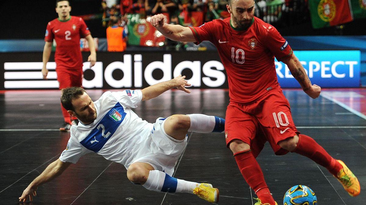 Futsal Euro 2014 Portugal Italy Ricardinho