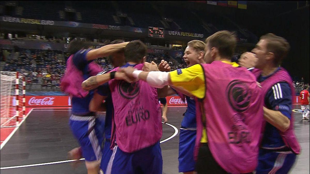 Futsal HLTS : Kazakhstan vs Italy