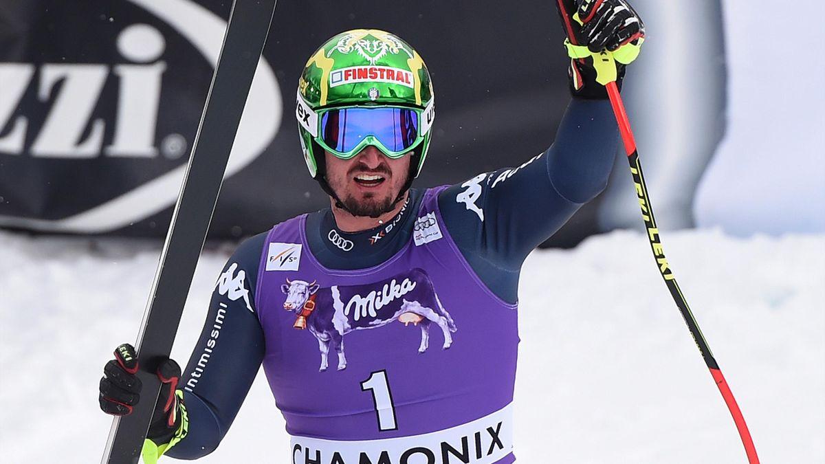 Dominik Paris gewinnt die Abfahrt in Chamonix